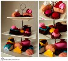 +__ Cake Etagere by Macabreskiss