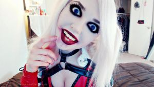 Harley quinn arkham knight cosplay by DarcyNycole