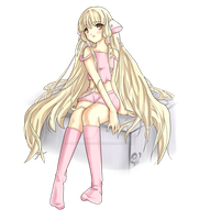 Chobits-Chii Fanart by PenguinAttackStudios