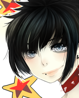 FC: Sven Black Hair by Yue-t