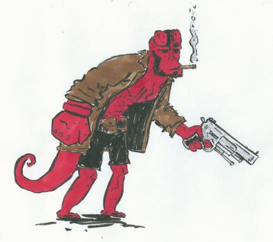 Hellboy by dougwilson83