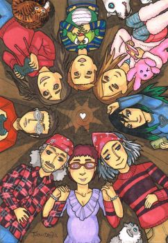Family Circle by ThumbJr