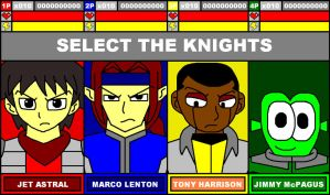 Strike Knights - Character Select by ian2x4