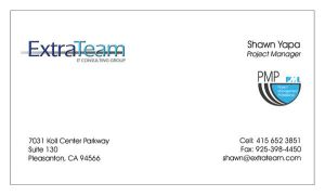 ExtraTeam Business Card by DJFoxx