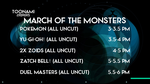 My Dream Toonami TNG March Monster Lineup by PeachLover94