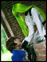 CODE GEASS: C.C. and Suzaku by KoujiAlone