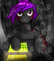 Once A Failure Always a Failure (Late Birthday Gif by LiiflessWolf