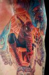 spiderman in the arm pit by tat2istcecil