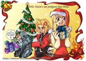 FMA's Christmas by witch-hecate