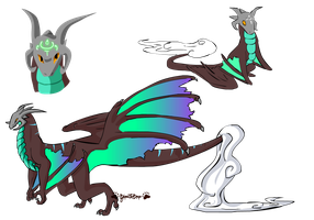 Dragon Design .osold. by SpookyBjorn