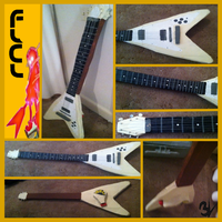 Flcl Flying V (with pullable string) by EPICVORT3X