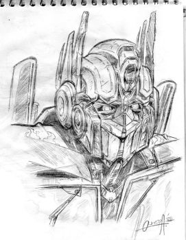 Optimus Prime by mistermoster