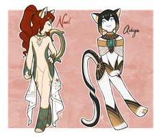 ADOPTS // OFF-BASE KITTEAS [CLOSED] by dai