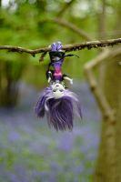 Spectra hanging in the bluebell wood by astrogoth13