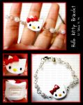 Hello Kitty Bracelet 2 by ChocoAng3l