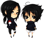 Itachi and Sasuke by Sir-Cupid