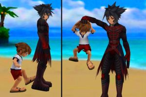 Sora doesn't like Vanitas by SorasPrincesss
