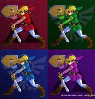 Four Heroes by Juny