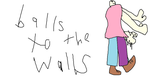 Leakypasta: Balls To The Walls promo art by 87man