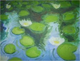 Water lilies by baos3113