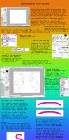 Easy Paint Tool SAI Smooth Line Tutorial by Narukokun