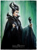 Maleficent by MeduZZa13