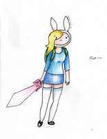 Adventure Time - Fionna by IgnisLamina