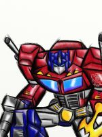 Optumus Prime G1 by EPICamiture2099