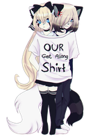 Our Get Along Shirt by Kitshini