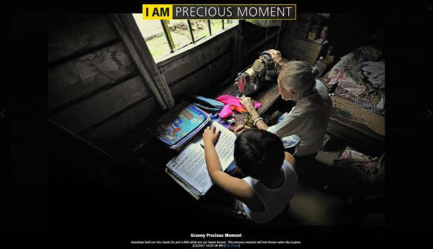 I AM PRECIOUS MOMENT by SAMLIM