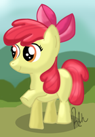 Apple Bloom by RebeccaHull45