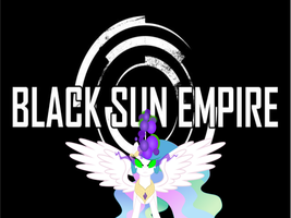 Celestia's Black Sun Empire Wallpaper by MLP-Jolt
