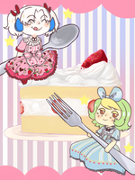 Grass Loli Cake Time by queefador