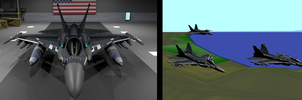 F-16M Cyber Falcon Finalized Version by Marksman104