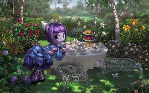 Lulu Belle Prepares Tea by stupjam