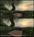 Perfect Picnic Premade Backgrounds by BackgroundSource