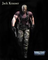 Jack Krauser RE DC by Claire-Wesker1