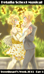 usuk :: sweethearts week // day 5 by CaptainJellyroll