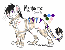 Manjy - October Ref- by KaiserTiger