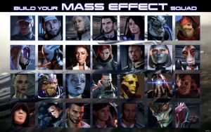 Build Your Mass Effect Squad by Xionice