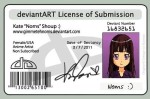 Mah License by LickTheColors