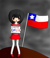 STAND UP CHILE by Asmii-chan