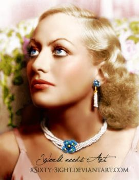 Joan Crawford by xSixty-3ight