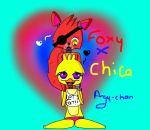 Foxy x Chica by angy-chan44