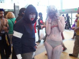 Otakon '10 Left 4 dead Cosplay by Neko-Rini