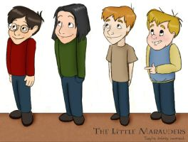 HP Lil' Marauders by julvett