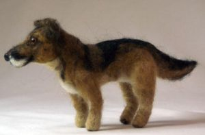 Needle Felted Mix Breed Dog by The-GoblinQueen