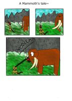 Skyrim comic - A Mammoth's Tale by Ludaritz