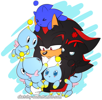 Shadow with a bunch of chaos by Du-O
