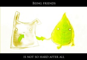 Being friends is not so hard by MithriLady